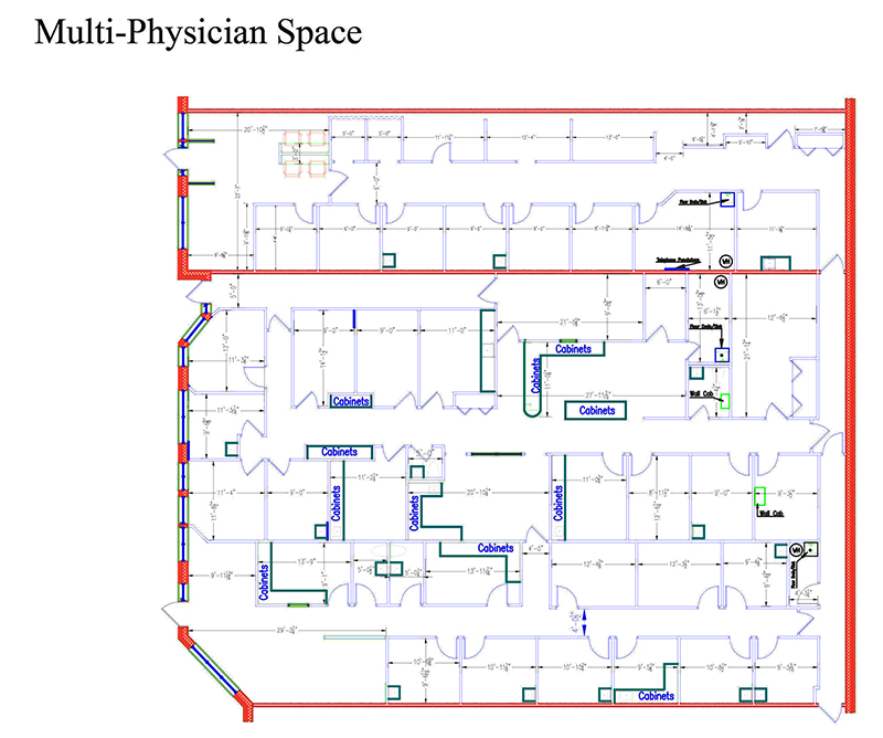 Large Physician Space