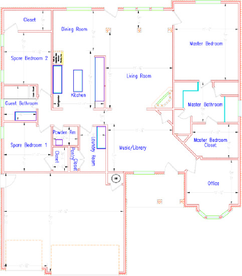 Residential Plus Service for Room Dimensions